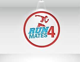 #92 for RUN 4 MATES LOGO af mahabubhossain13