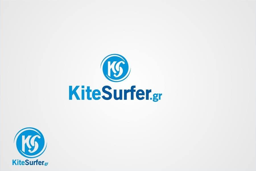 Inscrição nº                                         101                                      do Concurso para                                         Logo Design for kitesurf website