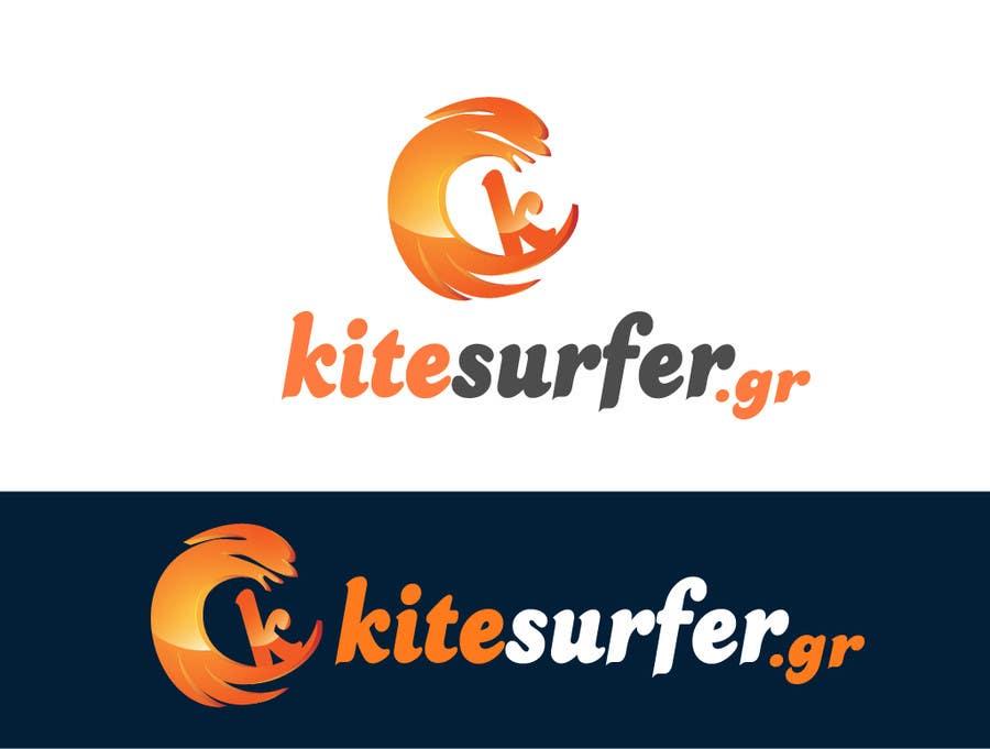 Inscrição nº                                         72                                      do Concurso para                                         Logo Design for kitesurf website