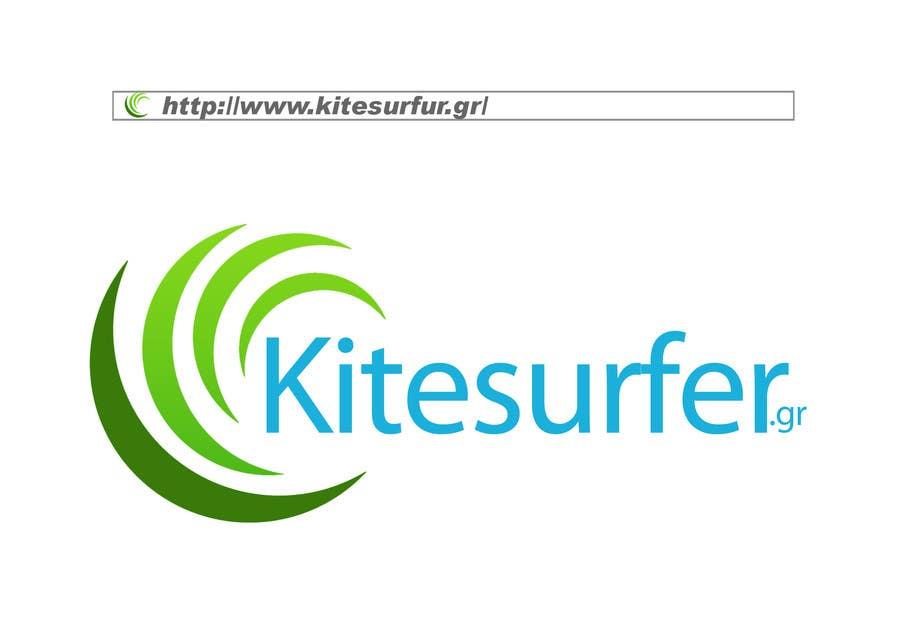 Inscrição nº                                         44                                      do Concurso para                                         Logo Design for kitesurf website