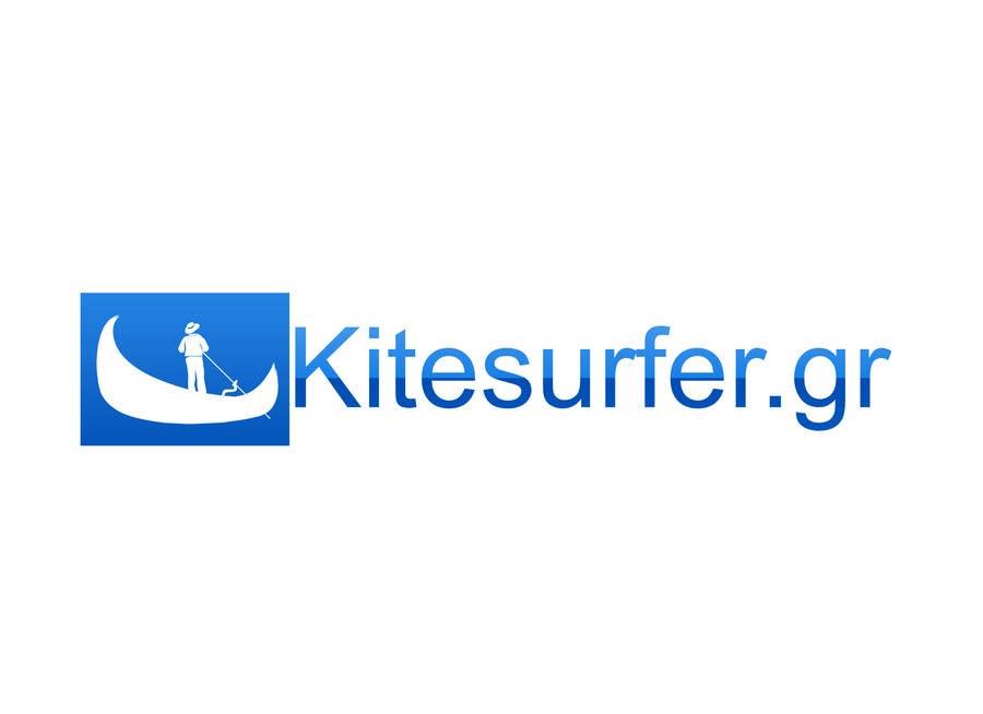 Inscrição nº                                         95                                      do Concurso para                                         Logo Design for kitesurf website