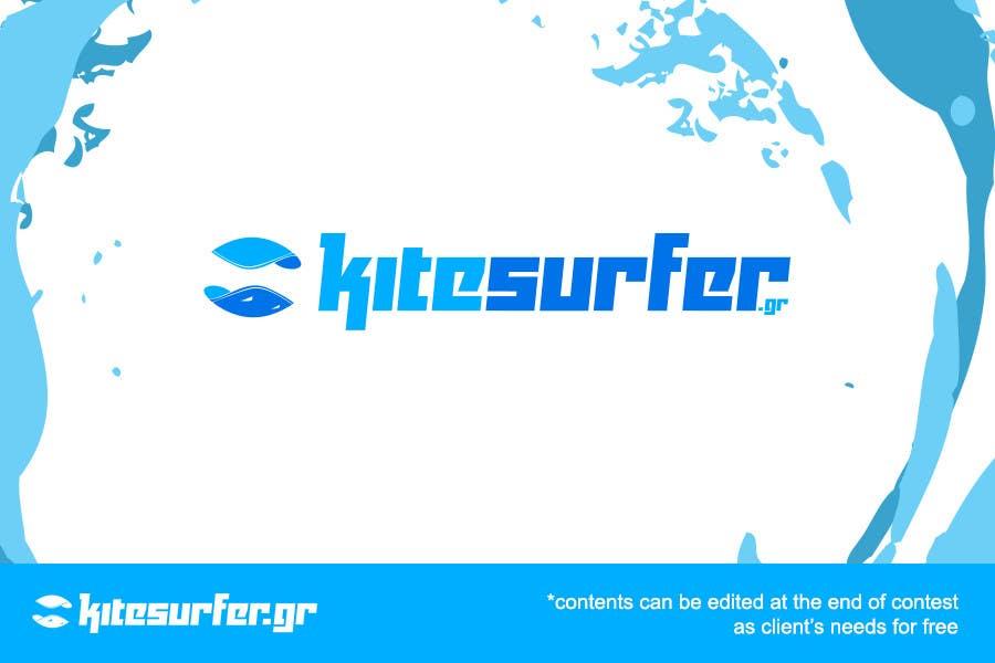 Konkurrenceindlæg #80 for Logo Design for kitesurf website