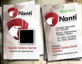 nº 15 pour ID Badge for Nanti System par five55555