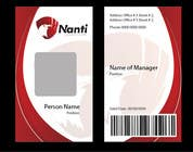 Graphic Design Contest Entry #18 for ID Badge for Nanti System