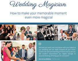 #26 for Design a Roller Banner to showcase at wedding fairs for a wedding magician by noninoey