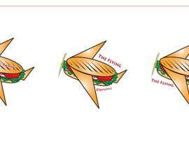 #24 for Design Logo For Panini Sandwich Restaurant of a Flying Panini by muddranshoily