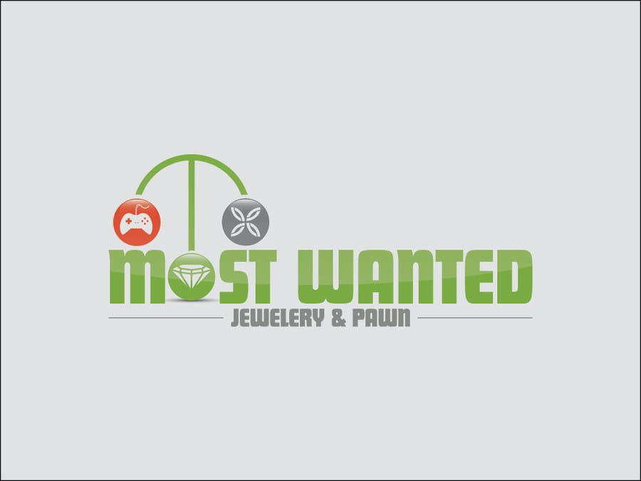 Konkurrenceindlæg #43 for Logo Design for Most Wanted Jewelry & Pawn