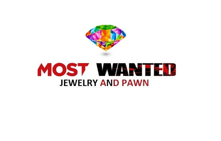 Contest Entry #12 for Logo Design for Most Wanted Jewelry & Pawn