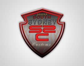 #11 para Logo Design for South Sydney Customs (custom auto spray painter) por fingal77