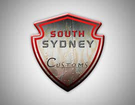 #18 para Logo Design for South Sydney Customs (custom auto spray painter) por fingal77