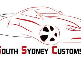 #26 para Logo Design for South Sydney Customs (custom auto spray painter) por bionickal