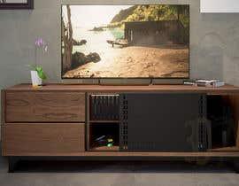 imamatsu04 tarafından Cabinet TV 3D model - LOFT FURNITURE Steel and natural OAK için no 120