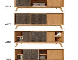 The80 tarafından Cabinet TV 3D model - LOFT FURNITURE Steel and natural OAK için no 117