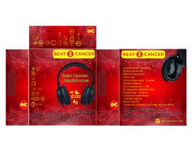 #14 для Beat Cancer - Headphones Box Design от boskomp