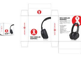 #7 для Beat Cancer - Headphones Box Design от eling88