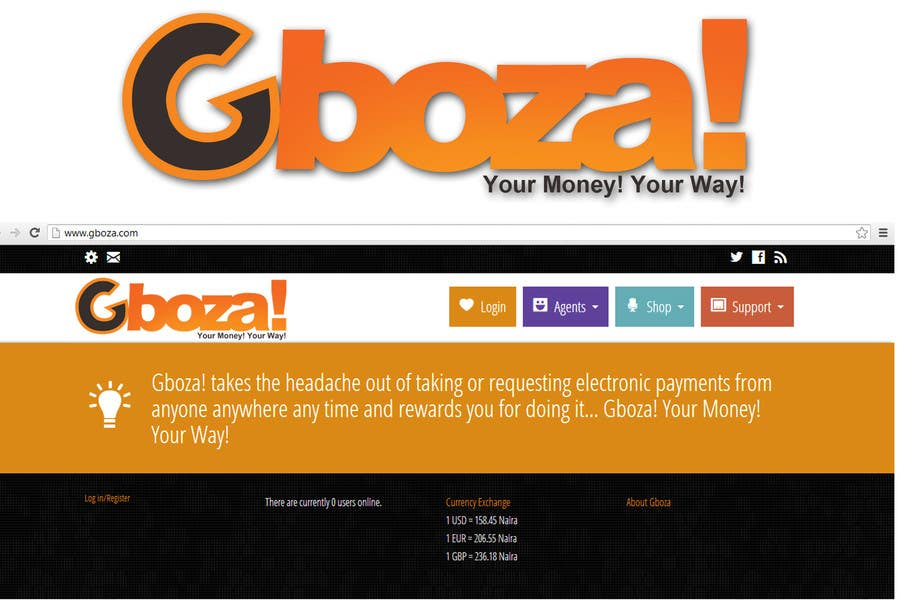 Konkurrenceindlæg #                                        71                                      for                                         Logo Design for Gboza!