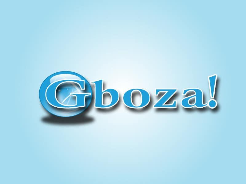 Konkurrenceindlæg #                                        65                                      for                                         Logo Design for Gboza!