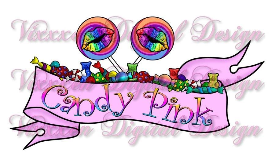 Inscrição nº                                         83                                      do Concurso para                                         Logo Design for Candy Pink