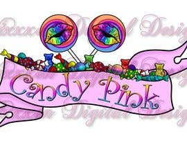 #83 para Logo Design for Candy Pink por Vixxxen