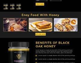#62 cho Design a webpage for honey product bởi bappa85
