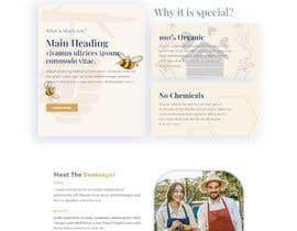 #66 cho Design a webpage for honey product bởi Opu404