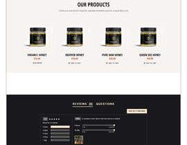 #73 cho Design a webpage for honey product bởi SK813