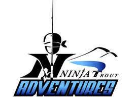 Nro 67 kilpailuun Design A Logo Contest For Ninja Trout Adventures käyttäjältä Ajala77