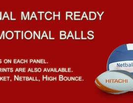 Nro 3 kilpailuun Sports Balls Banner käyttäjältä gssakholia11
