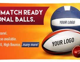 Nro 19 kilpailuun Sports Balls Banner käyttäjältä lukzzzz