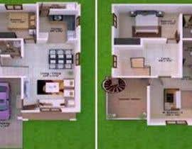 #1 untuk duplex house planning oleh sandanimendis