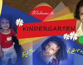 #16 for Design a Banner for Kindergarten by kvd05