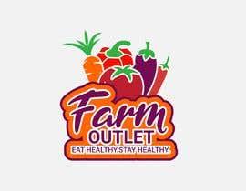 "Alisa1366 tarafından Contest - Logo for retail store ""Farm Outlet"" için no 164"