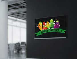 "#69 para Contest - Logo for retail store ""Farm Outlet"" de AmzaliAbdelali"