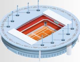 #40 for Oneball stadium af Koushikdesigner