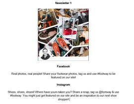 nº 10 pour Create social media captions from newsletter copy par jenkeenan