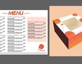 #7 für Create a new menu and cake box design von heartstrings10