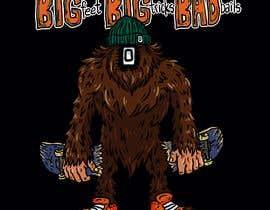 #29 cho Design for T-Shirt Hoodie (Bigfoot, altered head, broken skateboard, broken shoes) bởi francisvdelfin