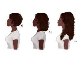 #19 for Create Illustration for different Hairlengths by andrianacehnak