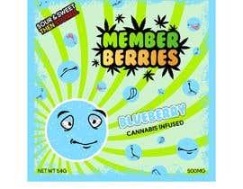 #17 for graphic design for candy packaging- berrys af EidenFarhan