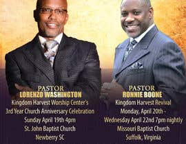 #8 for Design a church anniversary flyer -- 2 by mrsheergenius