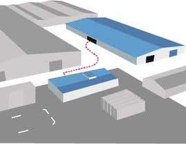 Nro 7 kilpailuun Design a simple site layout map. käyttäjältä faizanabad91
