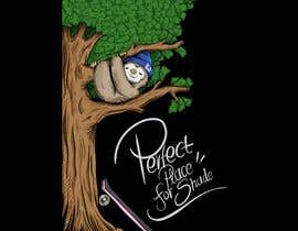 #22 cho Design for a T-Shirt/Hoodie (sleeping sloth in a money tree) bởi LihCreative