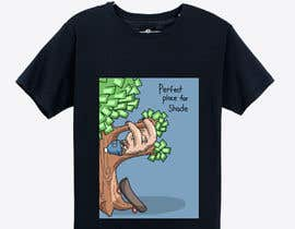 #32 cho Design for a T-Shirt/Hoodie (sleeping sloth in a money tree) bởi royztergndo