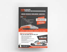 #14 untuk Design an Advertising leaflet to promote our Courier Services oleh wahdinbarjib