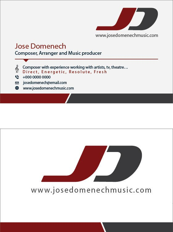Contest Entry #10 for Logo Design and Business Card Musician