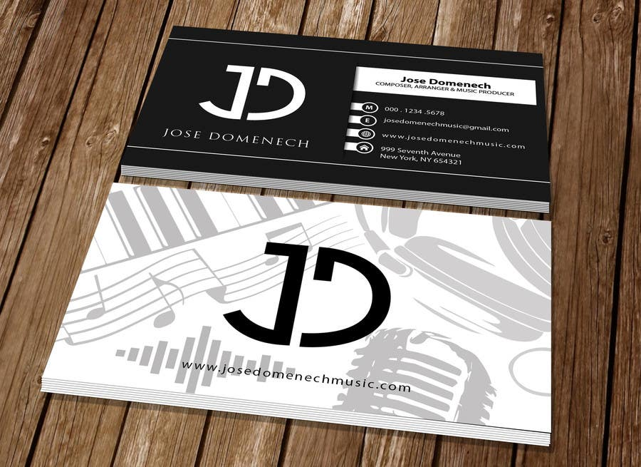 Contest Entry #83 for Logo Design and Business Card Musician