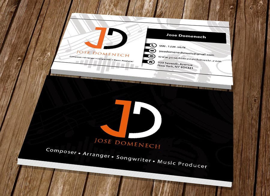 Contest Entry #97 for Logo Design and Business Card Musician