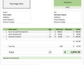 Nro 8 kilpailuun Excel Project Part B käyttäjältä mdabdussalamdesi
