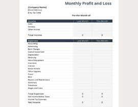 nº 11 pour Excel Project Part B par mdabdussalamdesi