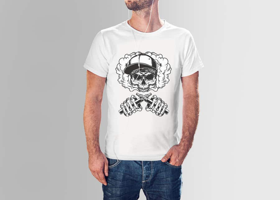 Kilpailutyö #                                        5                                      kilpailussa                                         i need a tshirt design for my business.